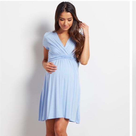 Pink Blush Maternity Dress e194bcf9e