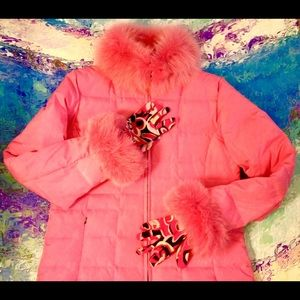 MARVIN RICHARDS - Fur & Down Filled Jacket/NeimanM