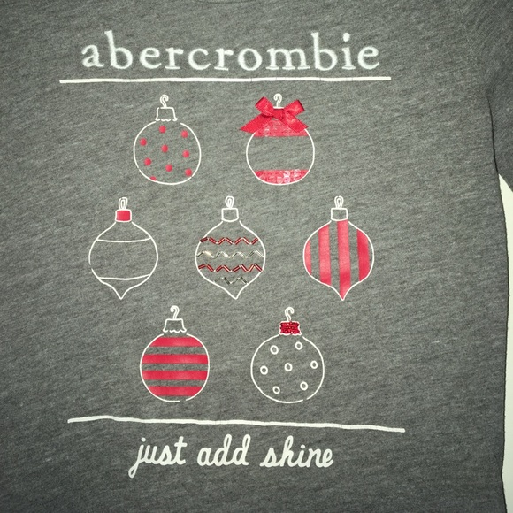 Christmas Ornament Tops.Abercrombie Kids Christmas Ornament Top 10 12