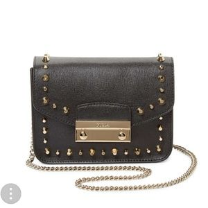 ♥Preloved furla julia stud bag♥