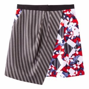 Peter Pilotto for Target Mixed Print skirt