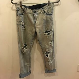 "One teaspoon boyfriend jeans ""awesome baggies"""