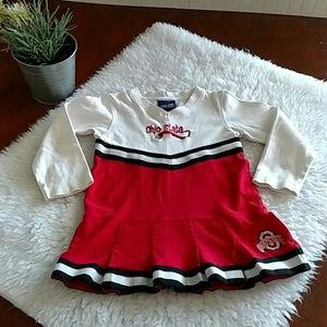 Other - Toddler girl OSU cheerleading dress