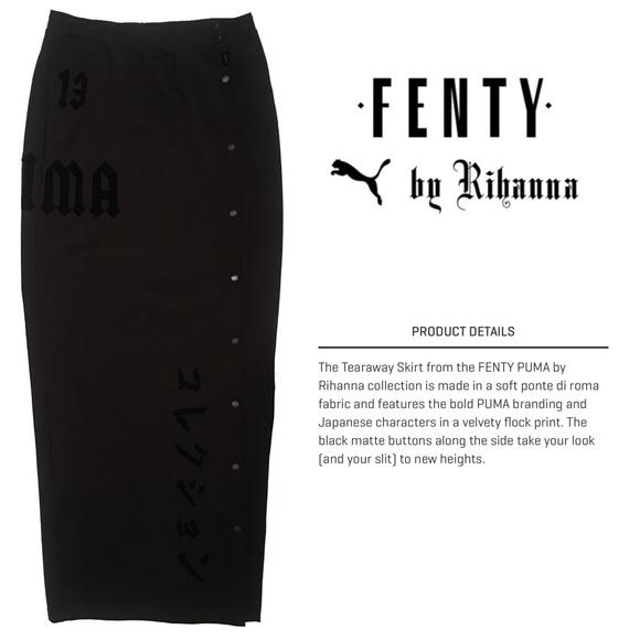 50573b25ed Fenty Puma x Rihanna Dresses & Skirts - New Fenty Puma x Rihanna M Tearaway  Maxi