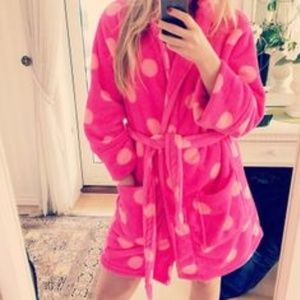 Sequins Polka Dot Robe