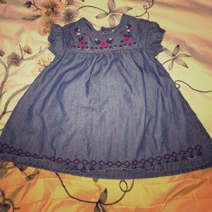 Adorable Carter's jean dress