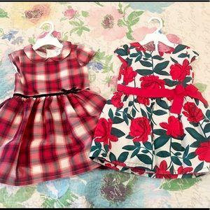 Bundle of 2 Carter's Dresses