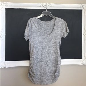 Old Navy Maternity Scoop Neck Shirred Tee