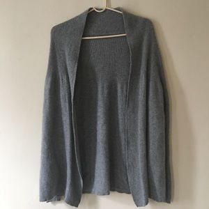 Sweaters - 100% Cashmere Gray Cardigan