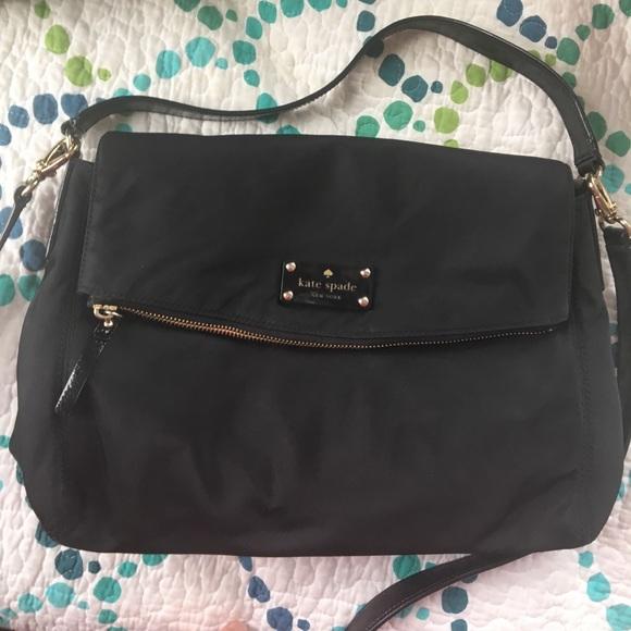 a6971ad822f7 KATE SPADE Nylon Little Minka Crossbody Bag