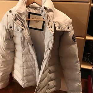 Abercrombie Fitch Warm Down Jacket, S