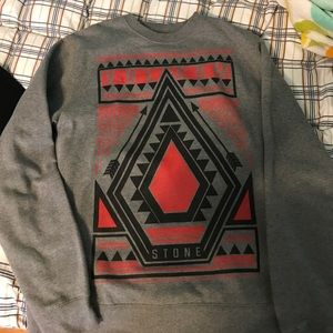 Volcom crew neck sweatshirt