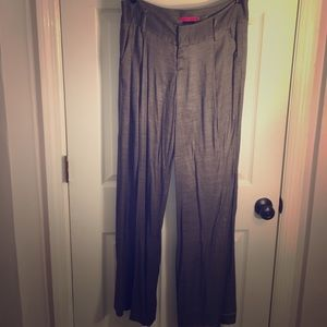 Alice + Olivia Trouser Pants in Grey