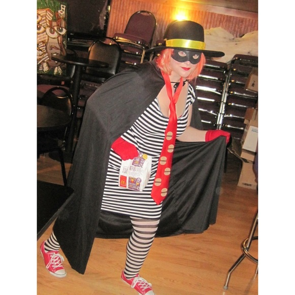 homemade hamburglar costume