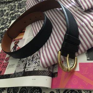 🌸 Coach leather belt M