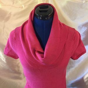 bcbgmaxazria sweater top pink size small