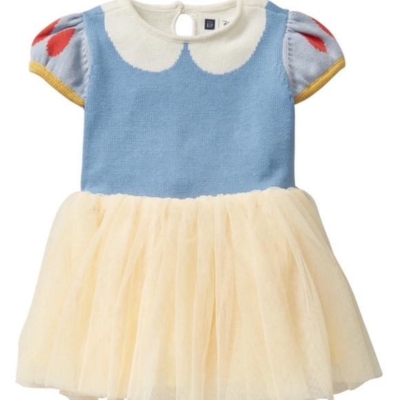 3f9bad412ff59 GAP Costumes | Disney For Baby Snow White Dress And Headband | Poshmark