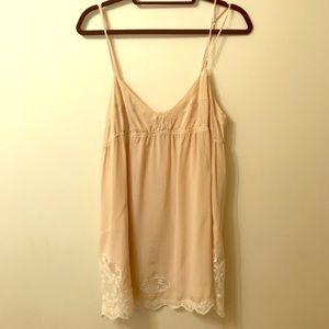 Wilfred silk cream camisole, medium