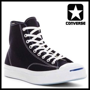 CONVERSE JACK PURCELL SIGNATURE HIGH TOPS SNEAKERS