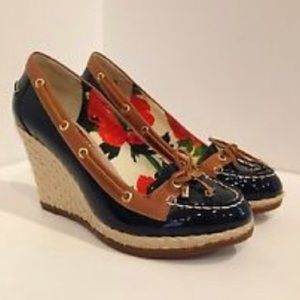 Milly Sperry Top Sider Wedges