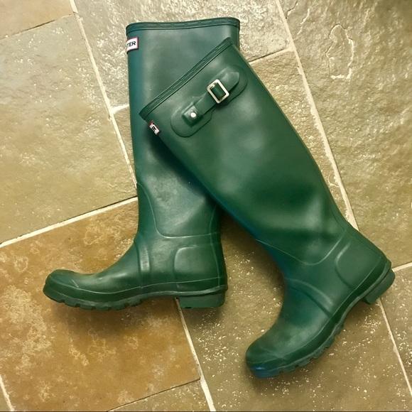 3821c49d63a Women's Original Tall Hunter Rain Boot size 8