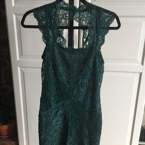 Nicole Miller Forest Fair Lady Lace Dress!