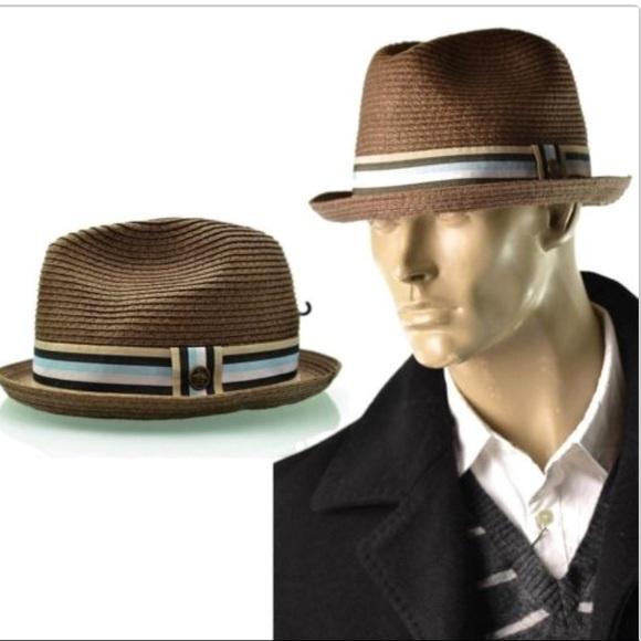 f62a8467ac6e4 Original Penguin Hat Mens Straw Pork Pie Fedora