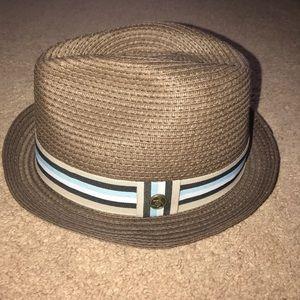 8258ed5f3a13f Original Penguin Accessories - Original Penguin Hat Mens Straw Pork Pie  Fedora