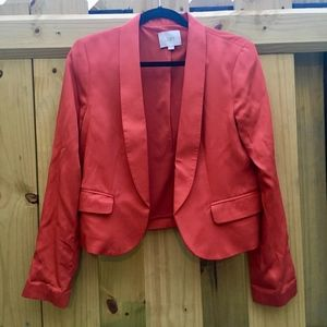 EUC Loft Burnt Orange Blazer Size 8