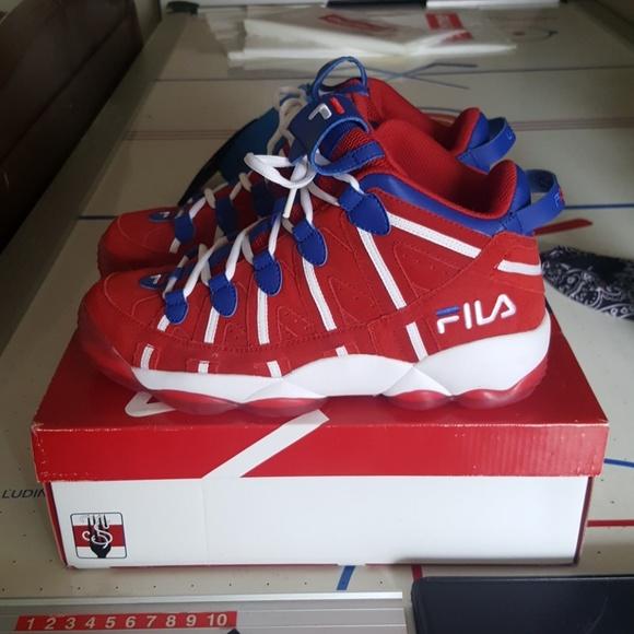 Fila Shoes   Rare Fila Spaghetti Sixers