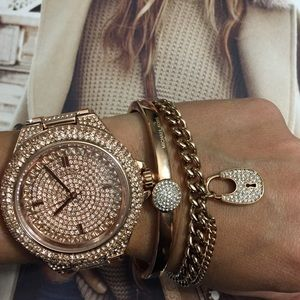 Brand New with tags Michael Kors rose gold watch