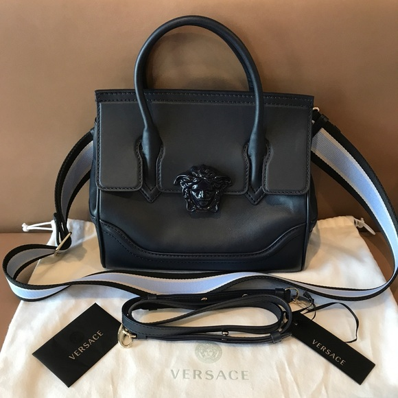 24ae4d4293 Versace Medusa Palazzo Small Leather Bag ! M 59de52393c6f9f173b02a490