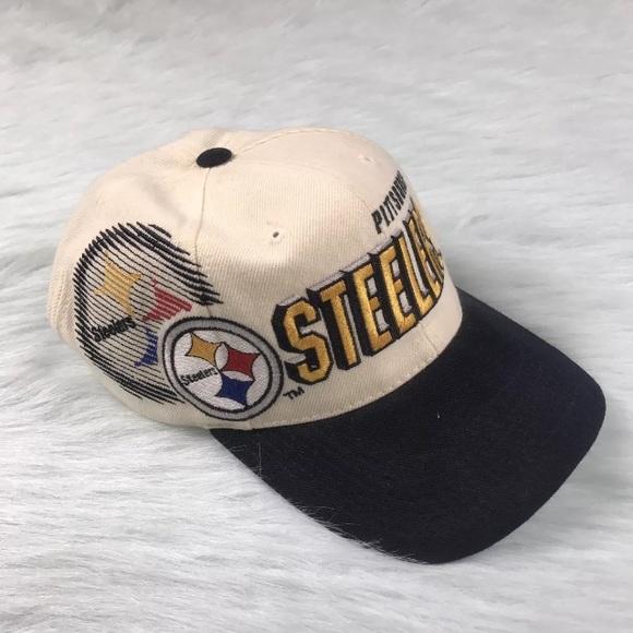 Vintage Pro Line Pittsburgh Steelers Shockwave hat.  M 59de53146d64bc945b02a9ec 1ea5282dfa6b