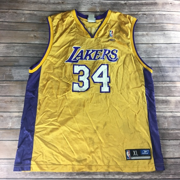 ed004cb33f4 AUTHENTIC VINTAGE SHAQ ONEAL LAKERS JERSEY. M_59de53262599feabe5029c22. Other  Shirts ...