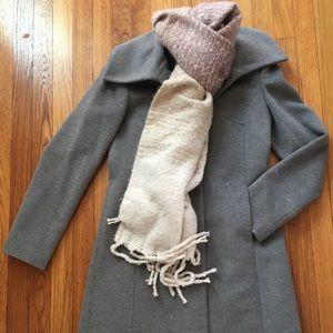 Cole hand signature wool blend coat