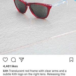 f8bc6bb9da KITH Accessories - Kith x Coca Cola x Oakley Sunglasses RED SOLD OUT