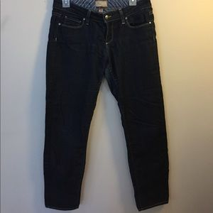 PAIGE Cropped Skinny Jeans