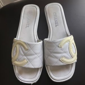 Authentic Chanel Sandals in Sz 9 1/2.