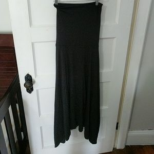 Black cover up or maxi skirt