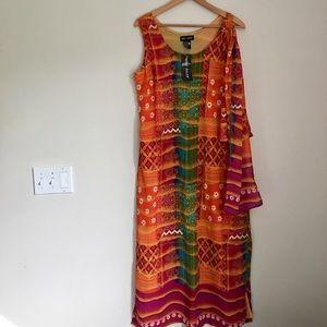 Mint Julep Bright Tribal Maxi Dress