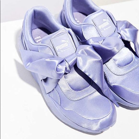 f79612d70e3 Fenty x Puma Rihanna Bow sneaker in Lavender