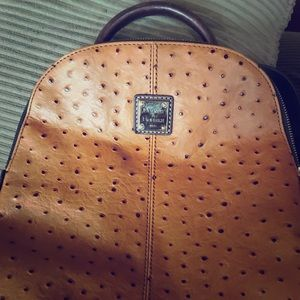 Dooney and Burke Ostrich Backpack