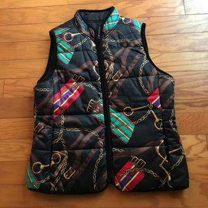 Vintage Ralph Lauren Reversible Equestrian Vest