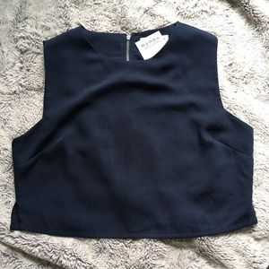 c1adfecaf186c3 Urban Outfitters Tops - Native Youth Zip Boat Neck Crop Top