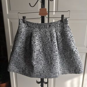 Behnaz Sarafpour for Target Silver Brocade Skirt!