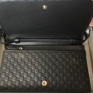 21fc59c2bcee0 Gucci Bags - NEW Gucci 466507 Micro GG Guccissima Crossbody