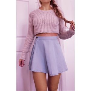 Nasty Gal X MINK PINK Skater Skirt