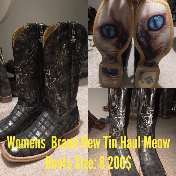 7d008ed40fa Brand new Tin Haul Boots. NWT