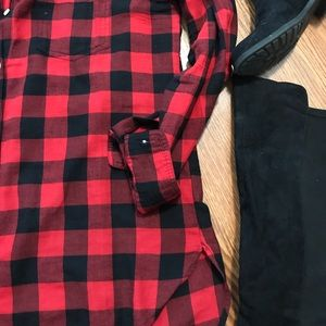 Old Navy Tops - Old Navy NWOT❗️Buffalo Plaid Flannel Shirt L TALL