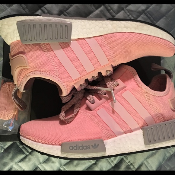 614f66c67d26e adidas Shoes - Adidas NMD R1 Vapour Pink Light Onix Womens